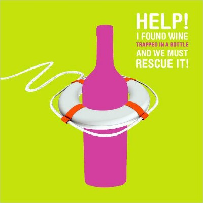 Wine Rescue Birthday Card