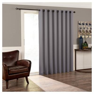 Tricia Room Darkening Patio Door Panel Grey (84 x100 )- Eclipse™