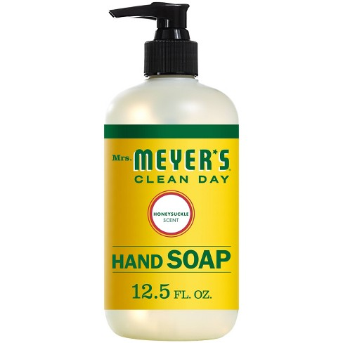 Mrs. Meyer's Honeysuckle Liquid Hand Soap - 12.5 fl oz - image 1 of 4