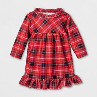 Doll Holiday Plaid Notch Collar Doll Clothing - Wondershop™