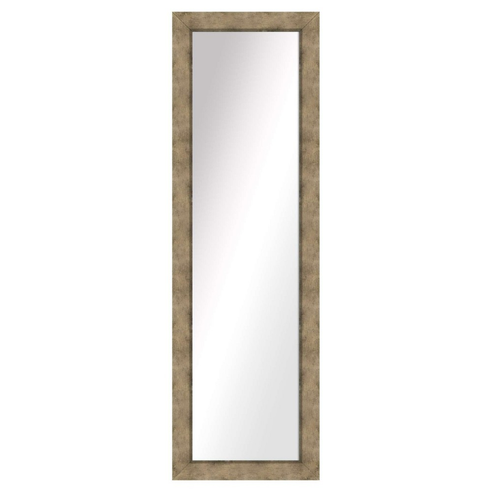 Floor Mirror Ptm Images Dark Silver, Multi-Colored