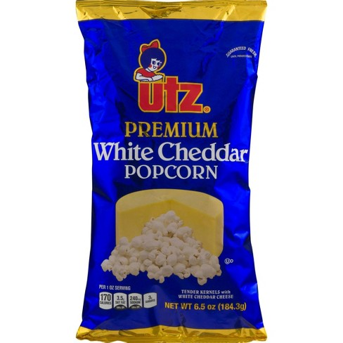 Utz Premium White Cheddar Popcorn - 6