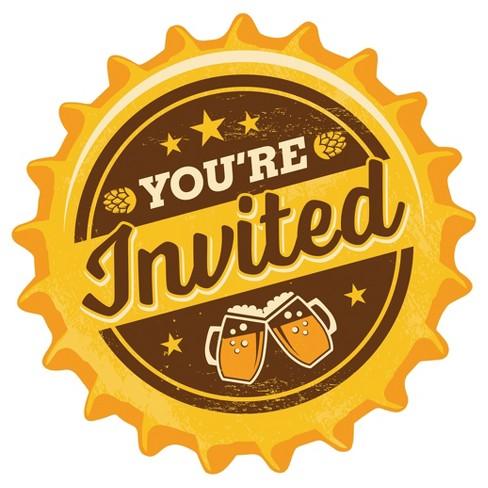 8ct Cheers Beers Invitations Target