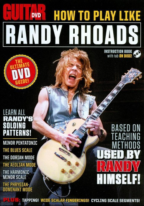 Guitar world:How to play like randy r (DVD) - image 1 of 1