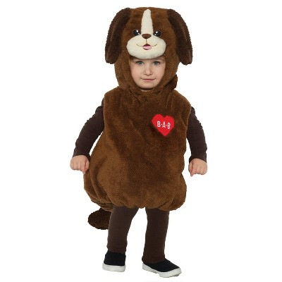 Toddler Build-A-Bear Cuddles Puppy Belly Halloween Costume