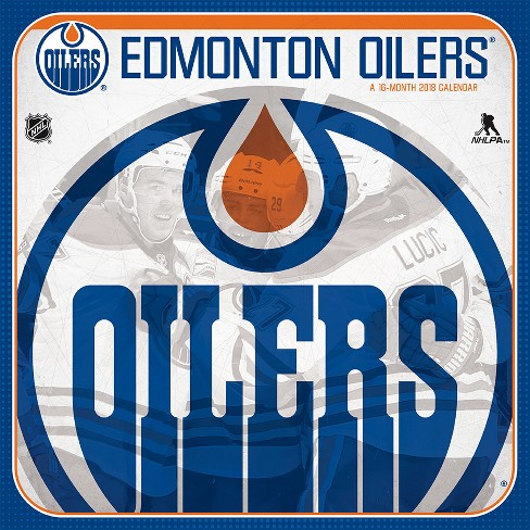 2018 Edmonton Oilers Wall Calendar -Trends International - image 1 of 4