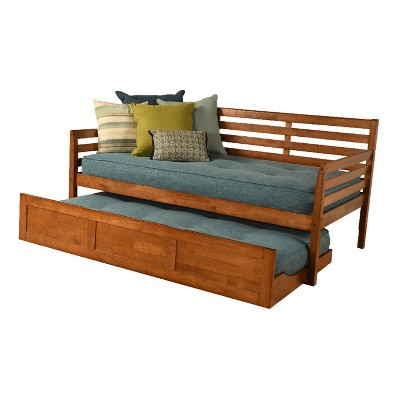 Twin Yorkville Trundle Daybed with 2 Mattresses - Dual Comfort