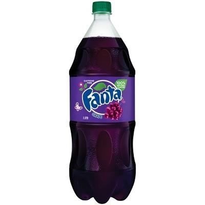 Fanta Grape Soda - 2 L Bottle