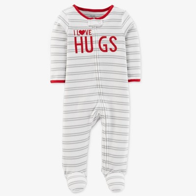Baby Love Hugs Sleep N' Play - Just One You® made by carter's White/Gray 3M