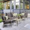 DriWeave Phyllis Ikat Deep Seat Outdoor Cushion Set - Arden - image 2 of 2