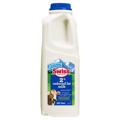 Swiss Premium 2% Reduced-Fat Milk - 1qt
