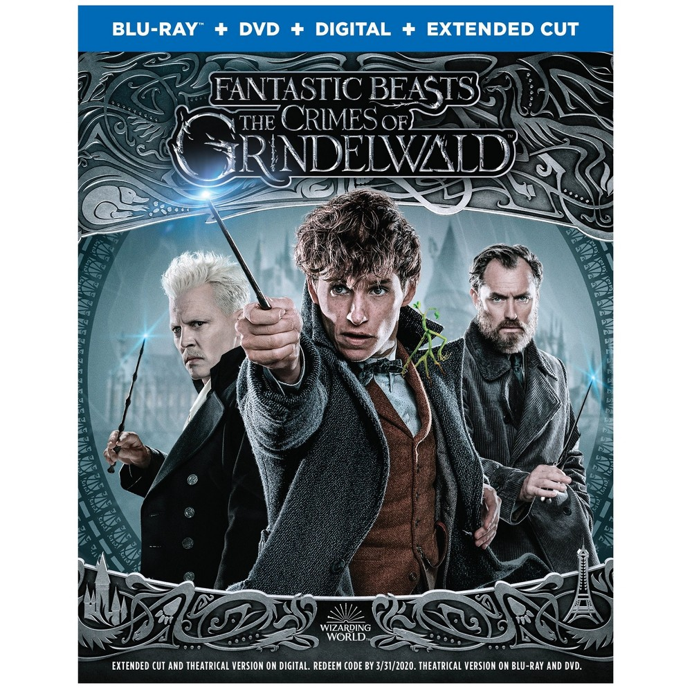 Fantastic Beasts: The Crimes of Grindelwald (Blu-Ray + Dvd +Digital)
