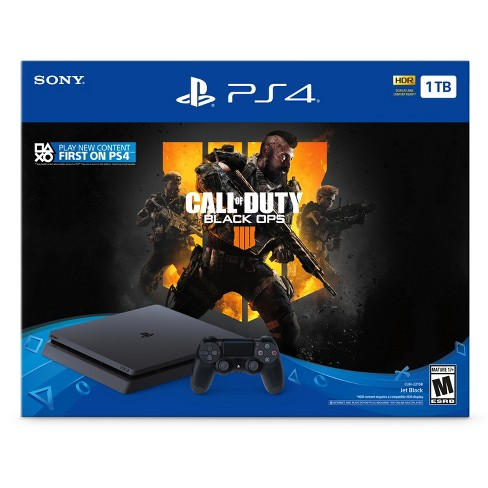PlayStation 4 1TB Call of Duty: Black Ops 4 Bundle - image 1 of 6