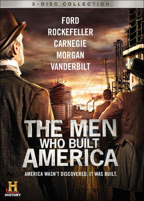 The Men Who Built America [3 Discs] - image 1 of 1