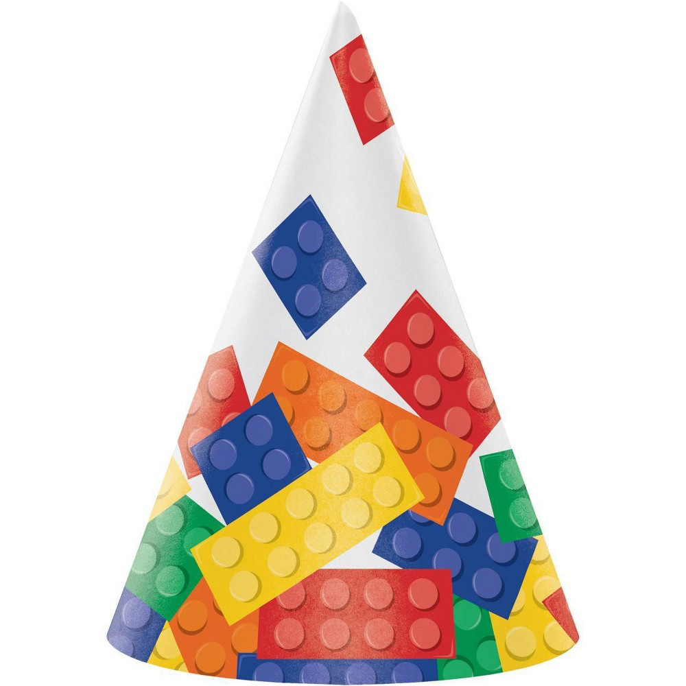 Image of 24ct Block Party Hat, wearable party accessories