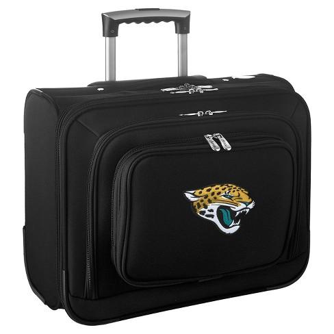 NFL Jacksonville Jaguars Mojo Wheeled Laptop Overnighter Suitcase - image 1 of 4