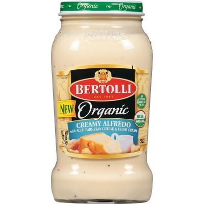 Bertolli Organic Creamy Alfredo Sauce with Aged Parmesan Cheese - 15oz
