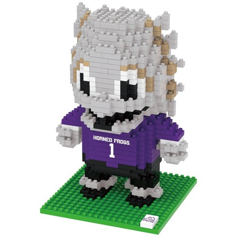 NCAA TCU Horned Frogs 3D BRXLZ Mascot Puzzle 1000pc - image 1 of 1