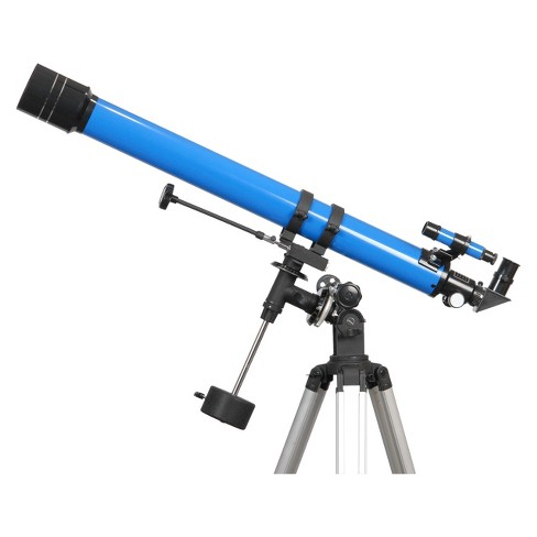 iOptron® Refractor Telescope - Blue (70mm) - image 1 of 1