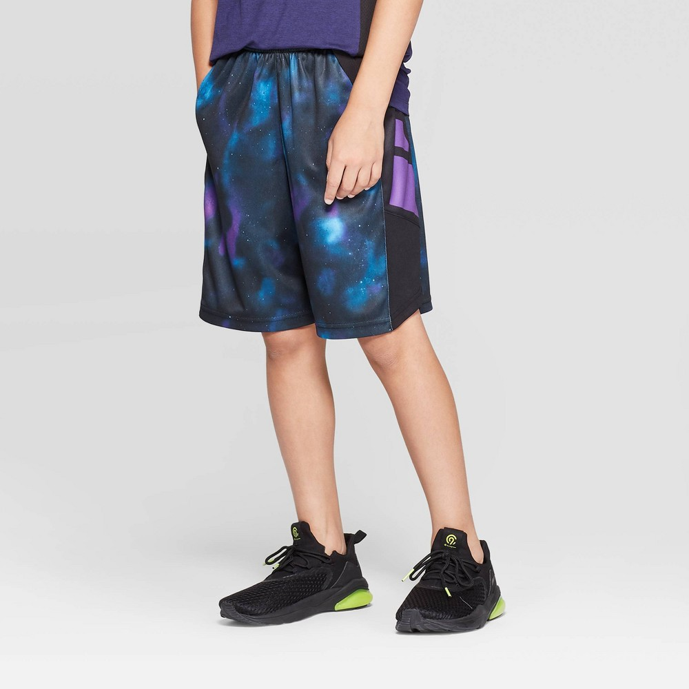 Boys' Printed Court Shorts - C9 Champion® Dark Purple XS