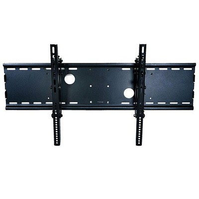 """Monoprice Titan Series Tilt Wall Mount For Extra Large 37"""" - 70"""" Inch TVs Displays, Max 165 LBS. 100x100 to 850x450, Black, UL Certified"""