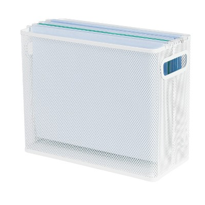 Mesh File Box White - Made By Design™