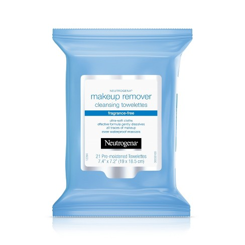 Neutrogena Makeup Remover Cleansing Towelettes - 21ct - image 1 of 4