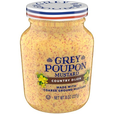 Mustard: Grey Poupon Country Dijon
