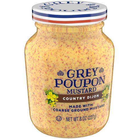 Grey Poupon Country Dijon Mustard - 8oz - image 1 of 3