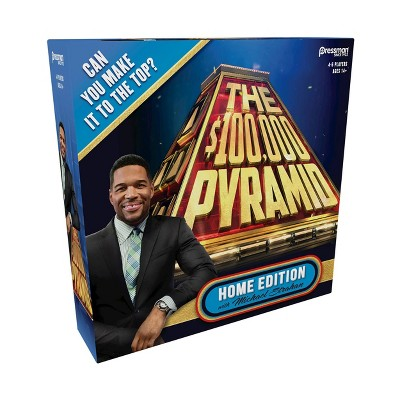 The $100000 Pyramid Home Edition Game with Michael Strahan
