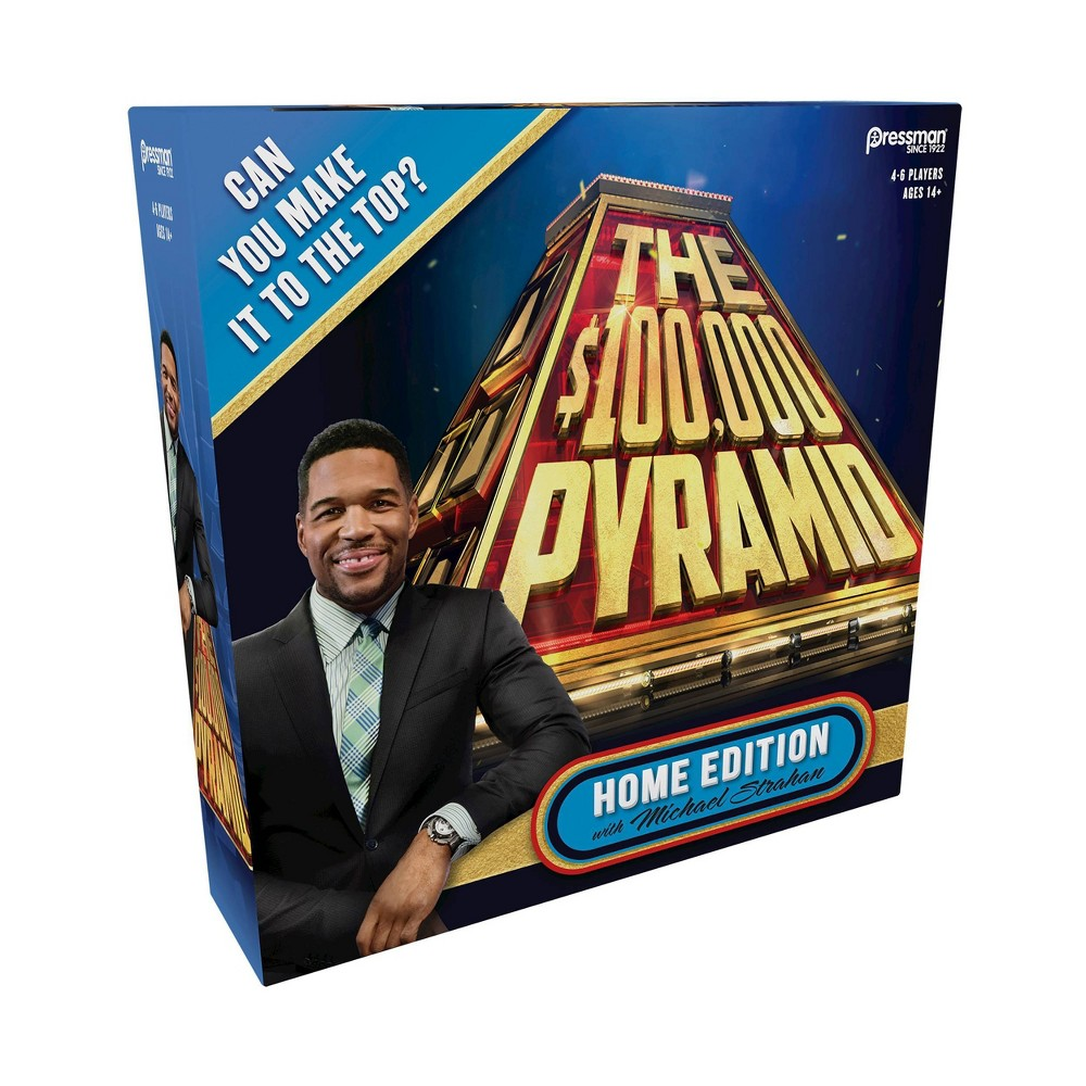The 100000 Pyramid Home Edition Game With Michael Strahan