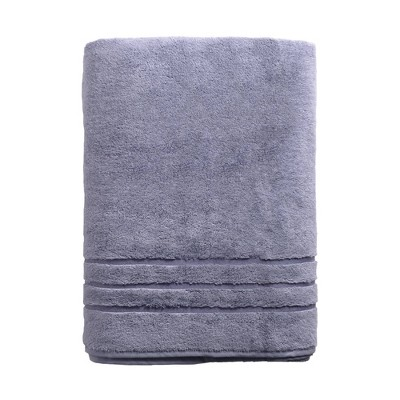 Rayon from Bamboo Bath Towel Blue - Cariloha