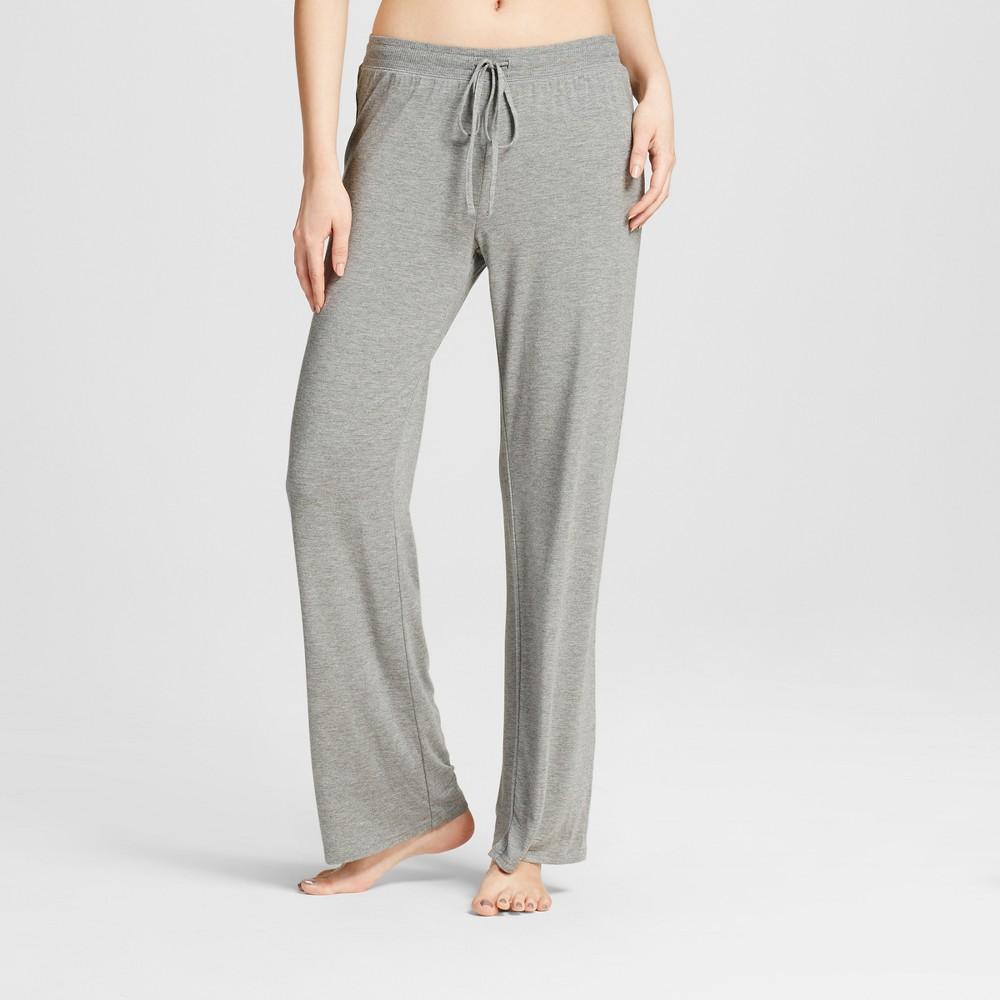 Women's Pajama Pants Medium Heather Gray S
