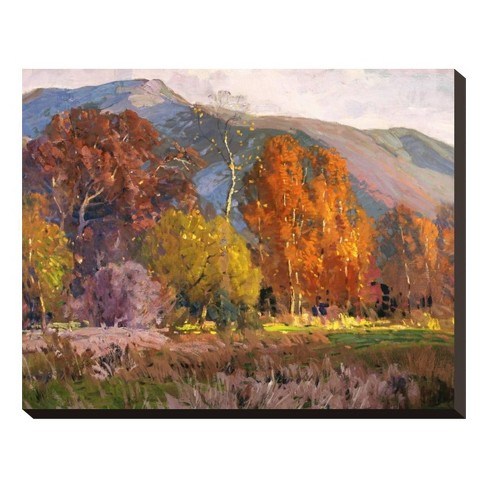 Autumn By Hanson Puthuff Stretched Unframed Wall Canvas - Art.com - image 1 of 2