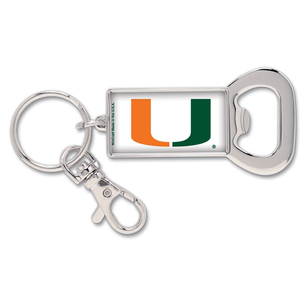 NCAA Miami Hurricanes Lanyard Bottle Opener Keychain NCAA Miami Hurricanes Lanyard Bottle Opener Keychain Gender: Unisex. Age Group: Adult. Pattern: Team logo.