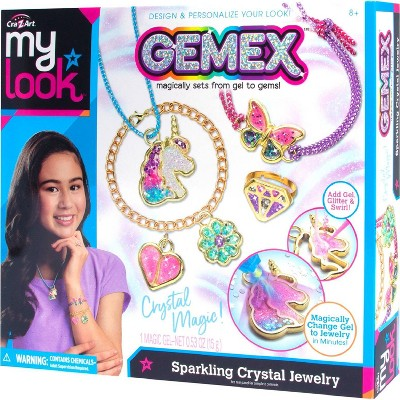 My Look Gemex Sparkling Crystal Jewelry Craft Kit