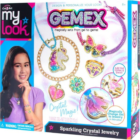 My Look Gemex Sparkling Crystal Jewelry Craft Kit - image 1 of 4