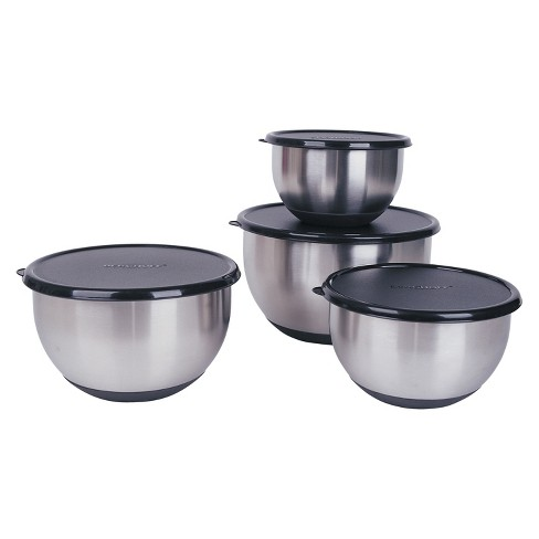 BergHOFF Geminis 8 Piece Mixing Bowl Set - Silver - image 1 of 1