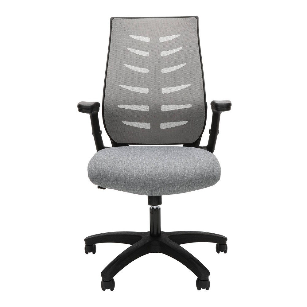 Core Collection Midback Mesh Office Chair For Computer Desk Gray - Ofm