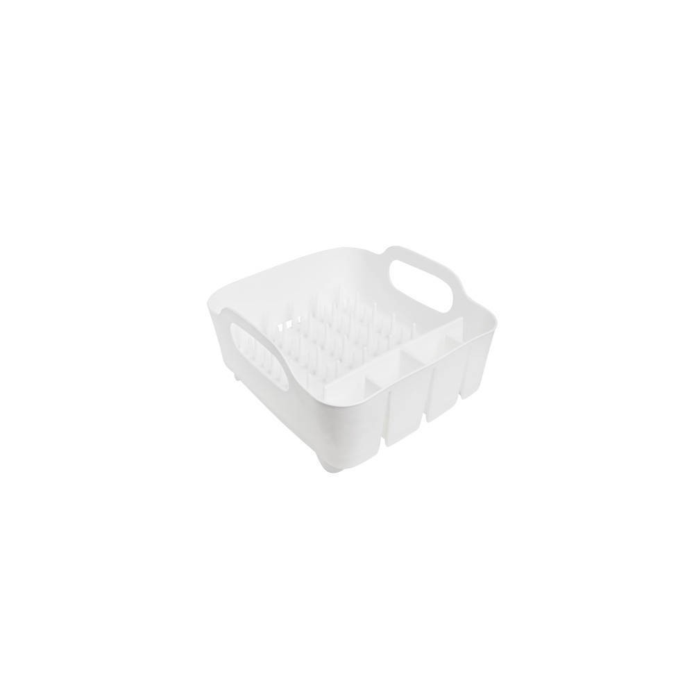 Image of Plastic Dish Rack Tub White - Umbra