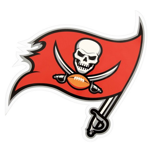 5d6f76b2 NFL Tampa Bay Buccaneers Large Outdoor Logo Decal