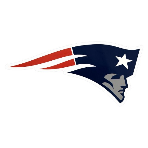 NFL New England Patriots Small Outdoor Logo Decal - image 1 of 3