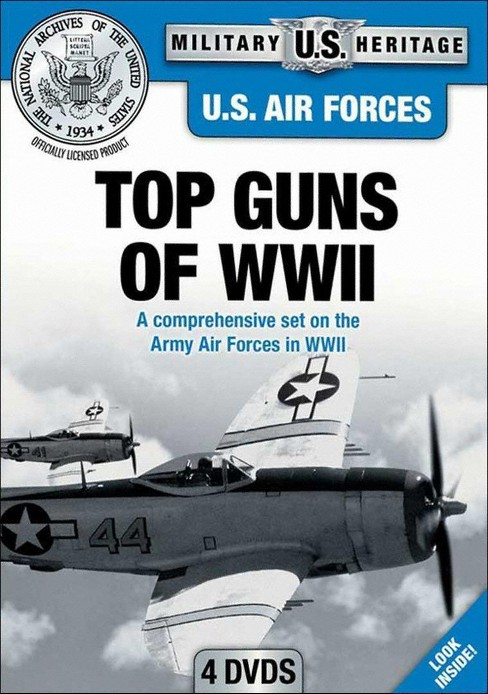 Us air forces:Top guns of wwii (DVD) - image 1 of 1