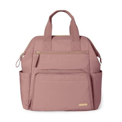 Skip Hop Mainframe Diaper Bag Backpack - Dusty Rose