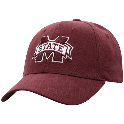 NCAA Mississippi State Bulldogs Men's Structured Brushed Cotton Hat