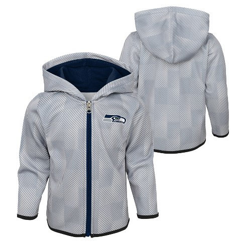info for 80d37 d00c1 Seattle Seahawks Toddler Cheer Loud Sublimated Full Zip Hoodie 12 M