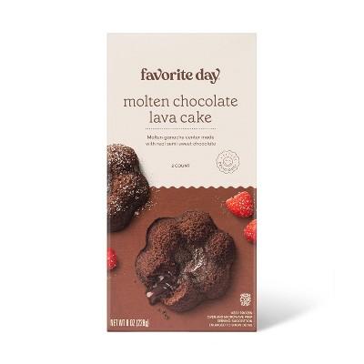Frozen Molten Chocolate Lava Cake - 8oz/2ct - Favorite Day™