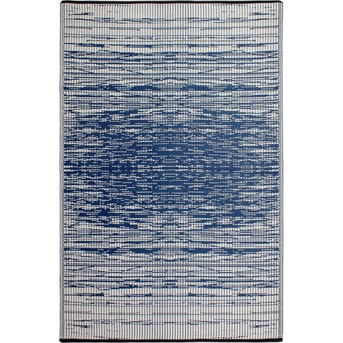 6' x 9' Brookyln Indoor/Outdoor Rug Blue - Fab Habitat - image 1 of 3