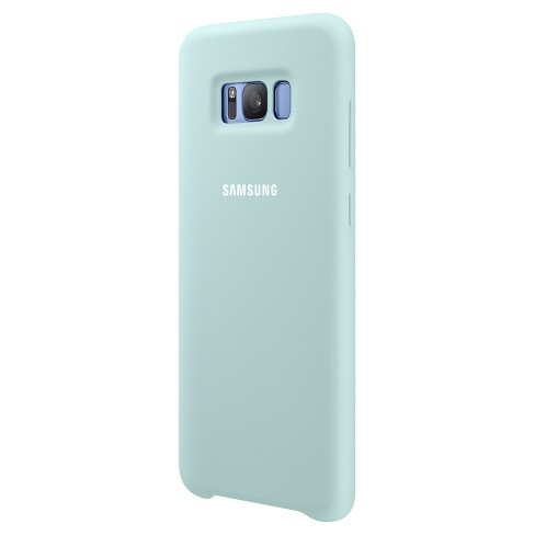 Samsung® Galaxy S8 Case - Silicone Cover - Blue - image 1 of 3