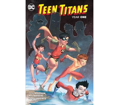 Teen Titans Year One : Year One (New) (Paperback) (Amy Wolfram) - image 1 of 1
